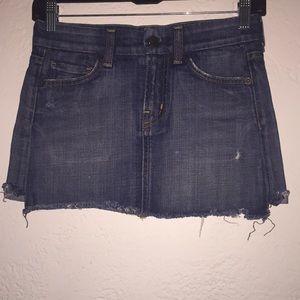 Citizens of humanity mini jean skirt Sz: 24